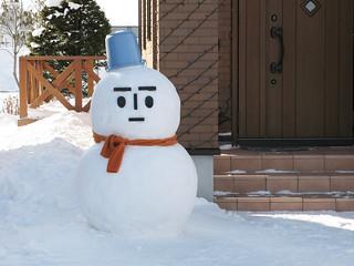 Snowman. | by MIKI Yoshihito. (#mikiyoshihito)
