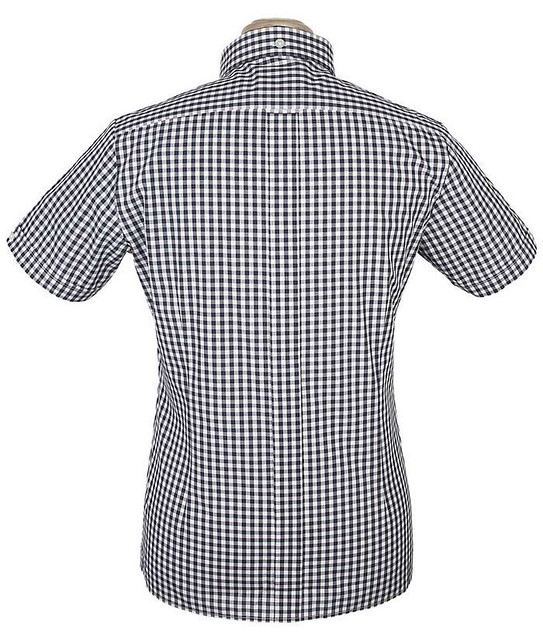 d7c86238cd489f Navy and White Gingham Brutus Trimfit Shirt | New Navy Trimf… | Flickr