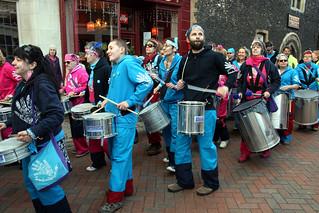 Samba Pelo Mar, University of Kent Worldfest Parade, Drums | by Jim_Higham