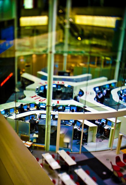 Tokyo Stock Exchange Floor PC-E