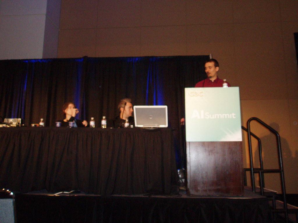 GDC 2010 AI Summit 004 Tara Teich, Chris Jurney, and Alex u2026 Flickr