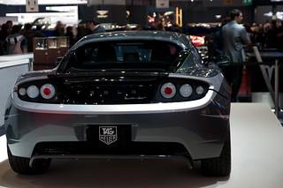 Tesla Roadster Tag Heuer | by PappyDiablo