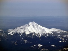 mt jefferson from the plane | by D.H. Parks