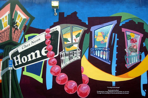 New Orleans - CBD: Coming Home Mural | by wallyg