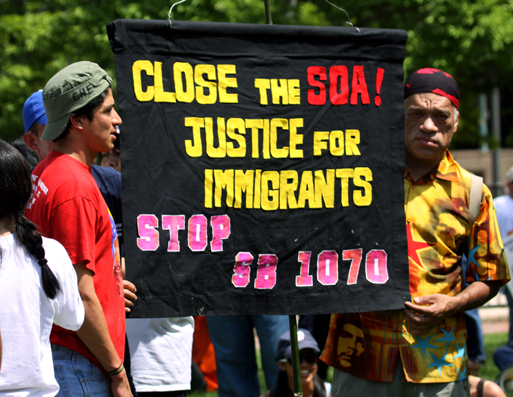 IMMIGRANTS WANT SB 1070 STOPPED