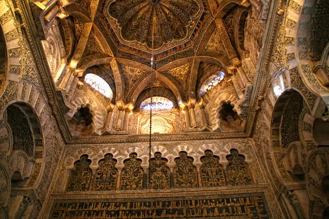 08 Cupulas y techos de la Mezquita