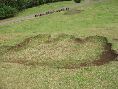 Godzilla's footprint at Kualoa ranch | by Anosmia