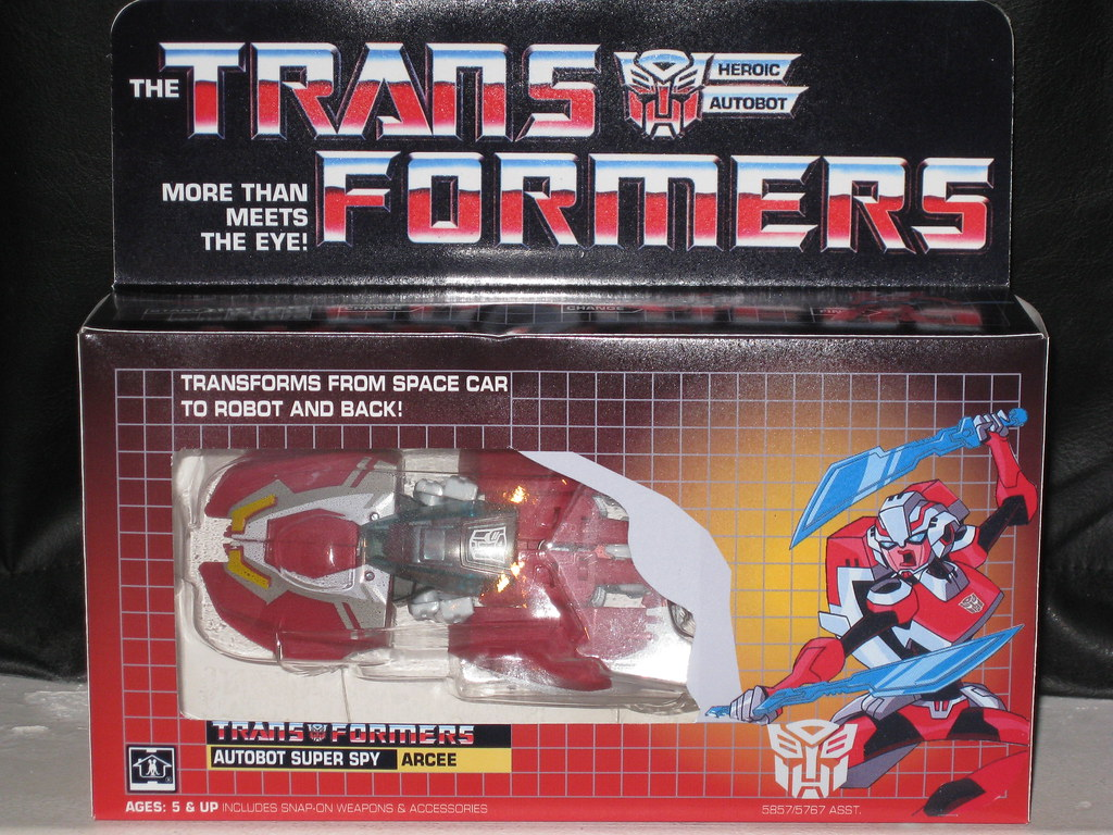 Transformers Animated ARCEE in G1 Style Custom Box | Flickr
