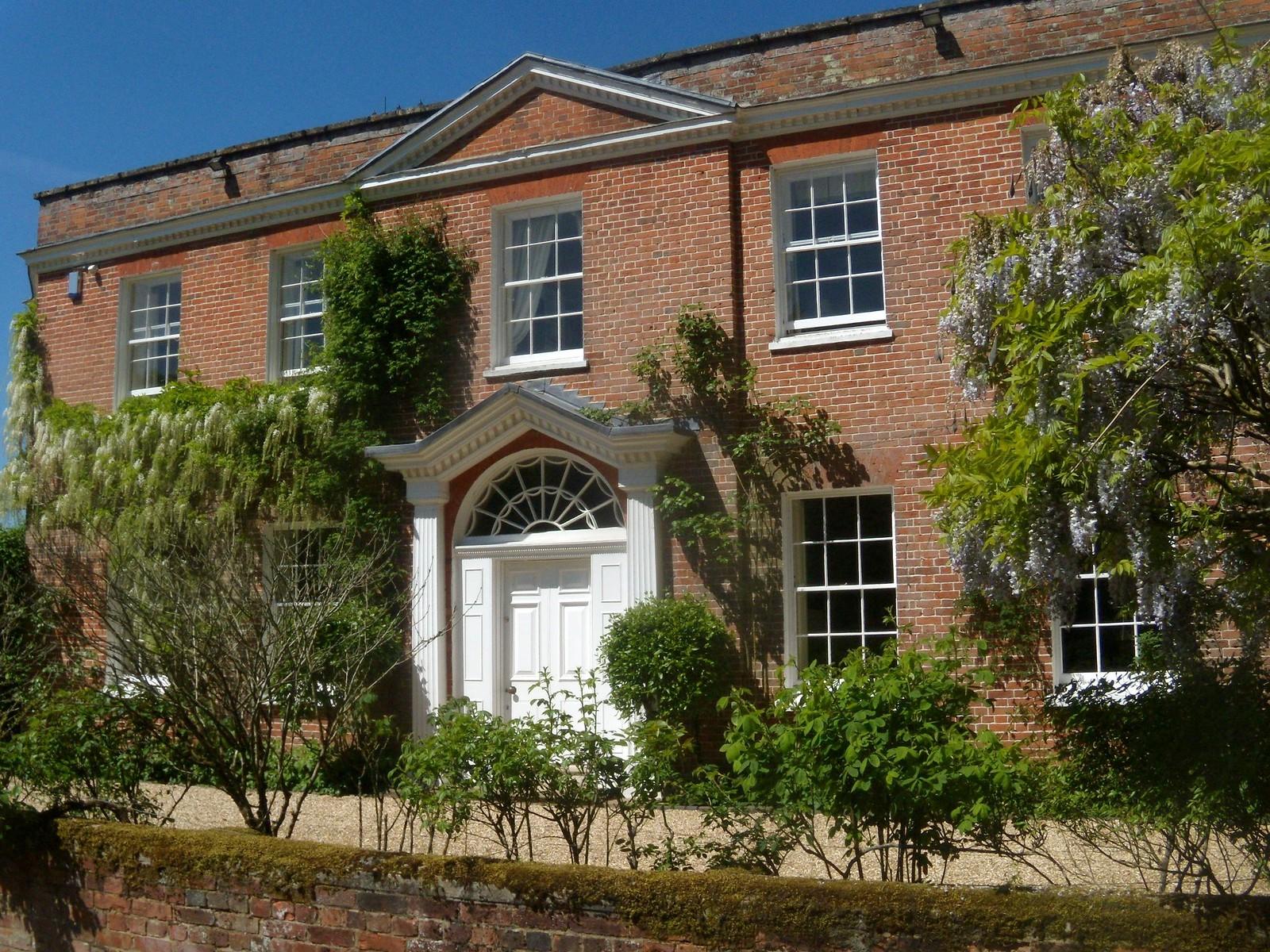 Ashe House Overton circular Home of Jane Austen's aunt
