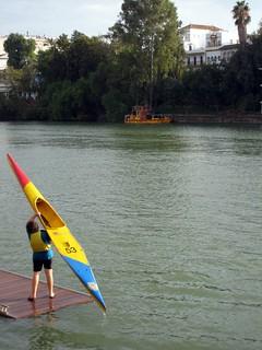 Séville - Kayak sur le Guadalquivir | by fred_v