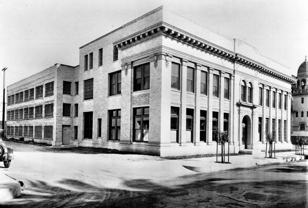 Orange County Jail, Santa Ana, circa 1925 | The Sycamore Str
