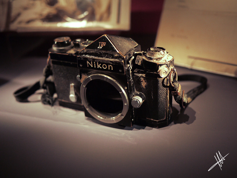 Don McCullin - Nikon F | This camera saved Don McCullin's li… | Flickr
