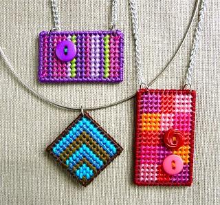 Needlepoint Jewelry   by CraftyPod