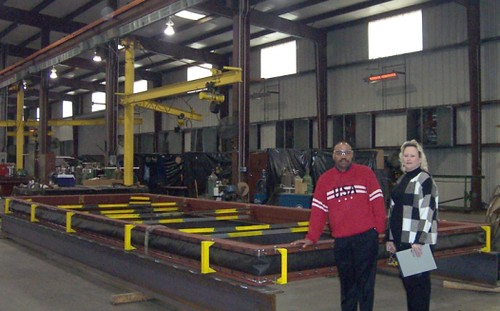 "12' x 30' x 12"" Face to Face, High Temperature, Fabric Expansion Joint for a Power Plant in New York"