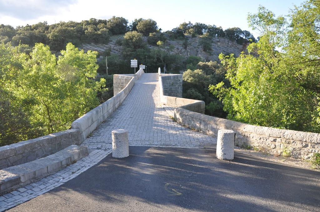 Pont De Saint Etienne D Issensac Looking Westward See Als