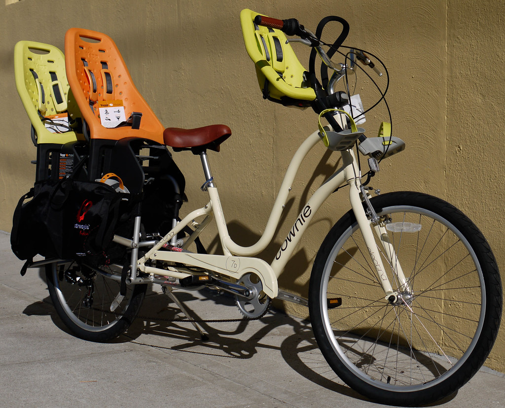 Xtracycle Electra Townie Yepp Mini And Maxi Dean Mullin Flickr