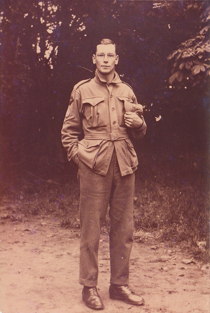 L/Cpl Arthur James Sydney in 1917 - Abbeville, France