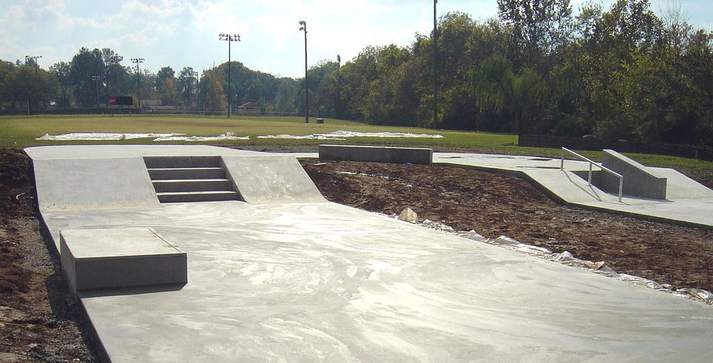 Dalton, Georgia Concrete Skatepark | Construction progress o… | Flickr