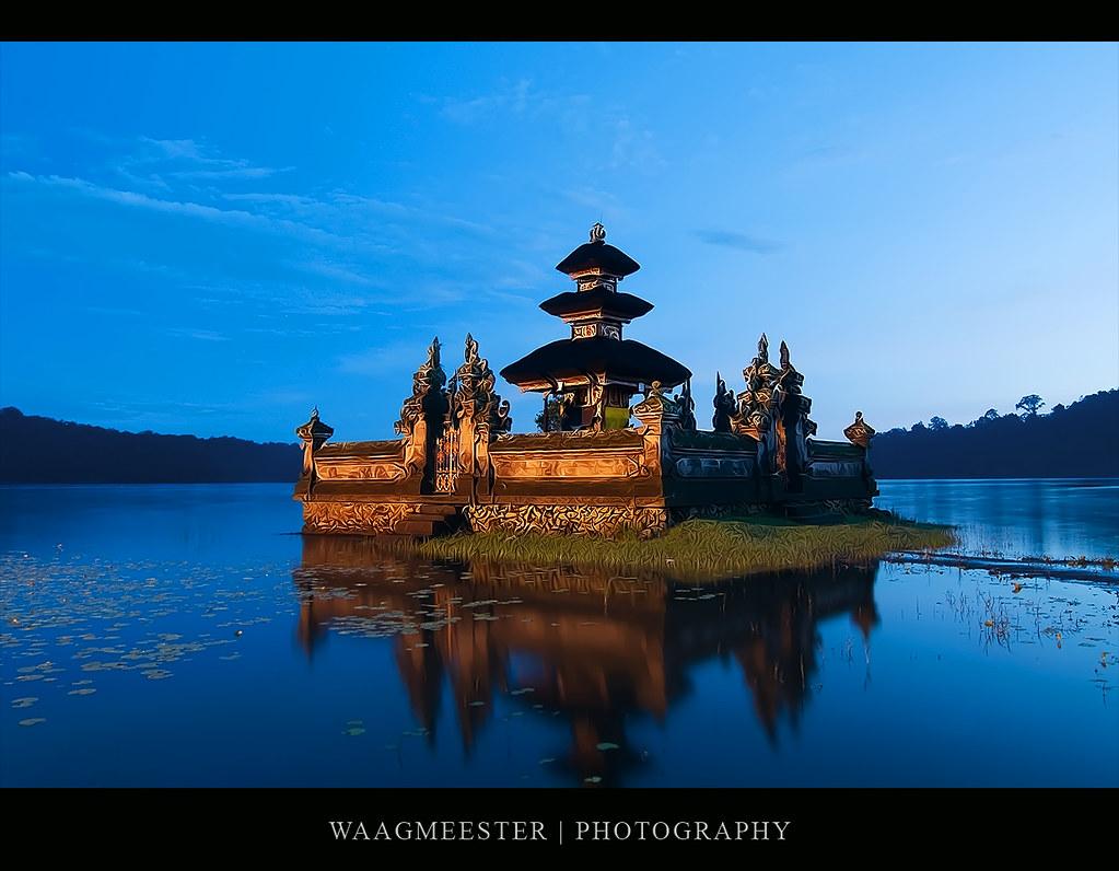 Pura Ulun Danu Bratan Bedugul Bali Pura Ulun Danu Brata