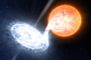 Suzaku Catches Retreat of a Black Hole's Disk   by NASA Goddard Photo and Video