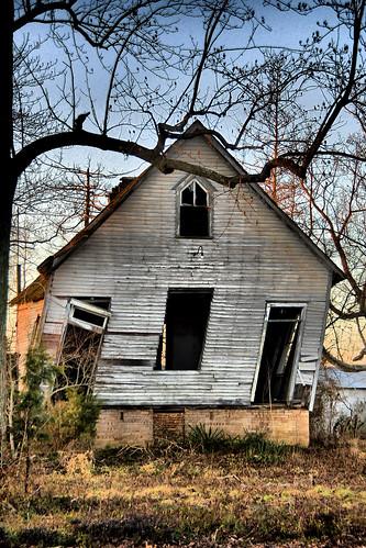 old schoolhouse hdr crooked tilted ramshackle oldschoolhouse atlanticcountynj oldfarmschool imagebydesignworks