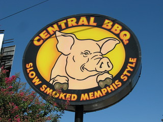 Central BBQ Sign   by Southern Foodways Alliance