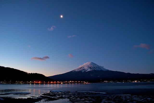 Mt. Fuji at dawn