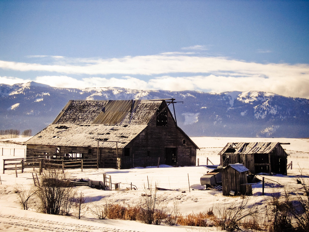 Falling apart   Old Barns in McCall Idaho   Rob Crow   Flickr