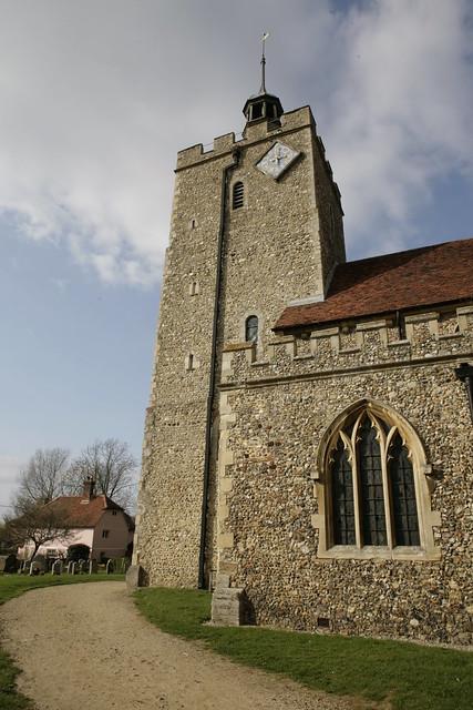 felsted village& church essex
