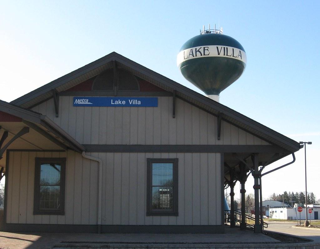 Train Station in Lake Villa, IL