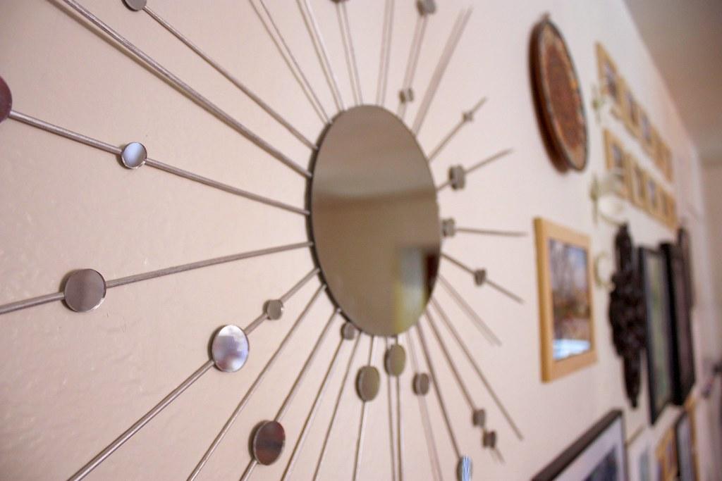 Starburst Mirror on Wall | Step 0: Materials Bamboo wooden d… | Flickr