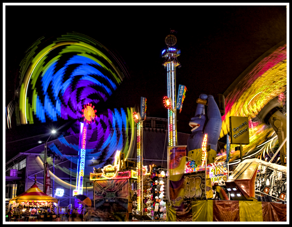 Easter Show carnival rides by lacad01