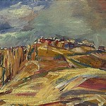 Bomberg, David (1890-1957) - 1954 Ronda, Summer (Norwich Castle Museum and Art Galler, U.K.)