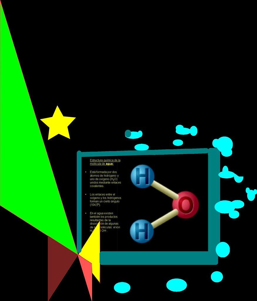 Molécula Del Agua Aida61 Flickr