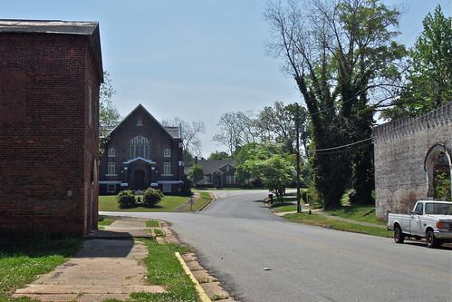 architecture buildings georgia churches streetscenes smalltowns smalltownamerica grantville