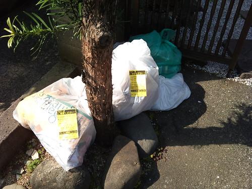 My neighbors can't sort their garbage | by kalleboo