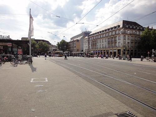 Karlsruhe Bahnhofsvorplatz
