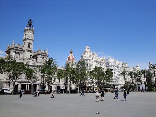 Plaza de Ayuntamiento, Valencia, Spain