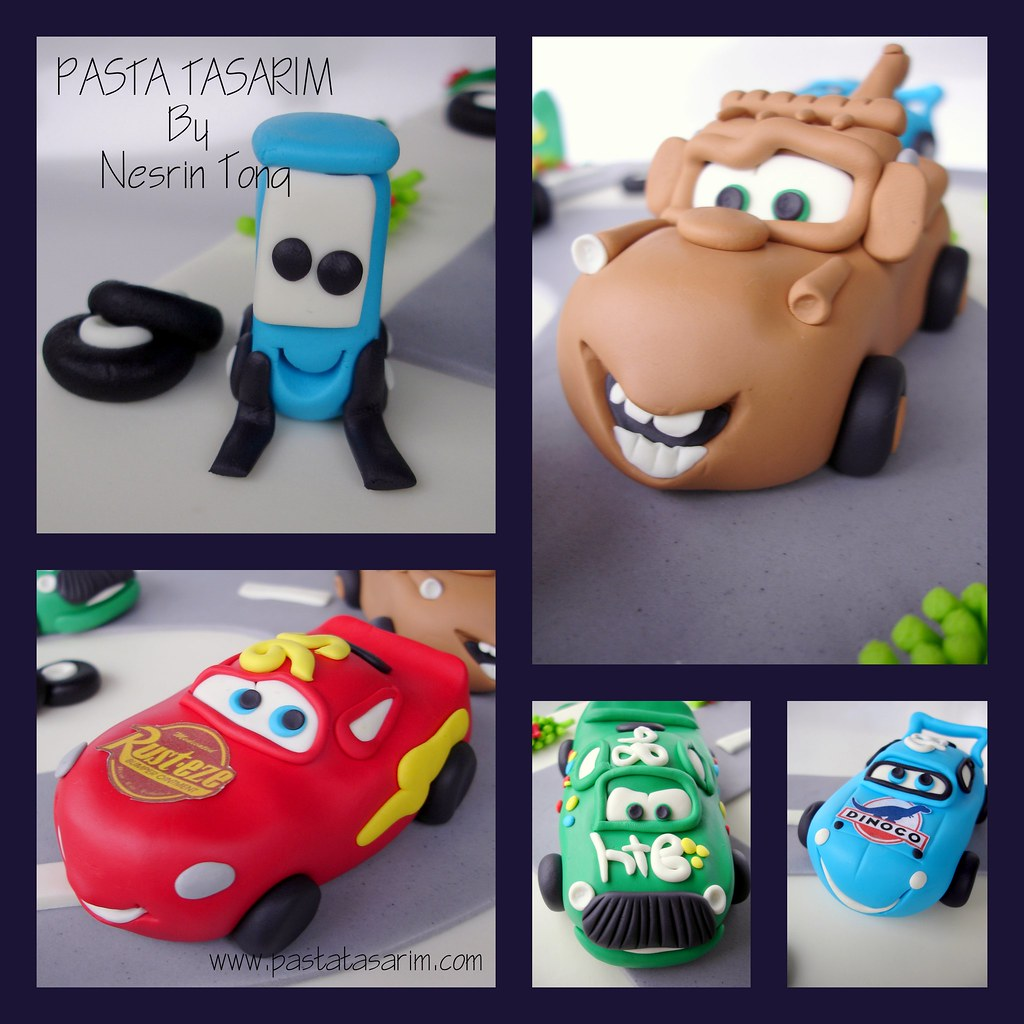 Pleasant Cars Birthday Cake Yagiz Cake By Nesrin Tong Flickr Funny Birthday Cards Online Eattedamsfinfo