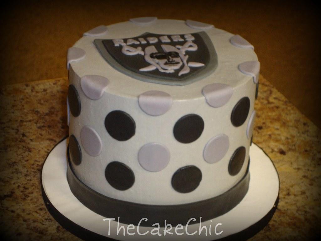 Cool Mini Wedding Cake 011 Mini Wedding Cake Oakland Raiders G Flickr Funny Birthday Cards Online Inifofree Goldxyz