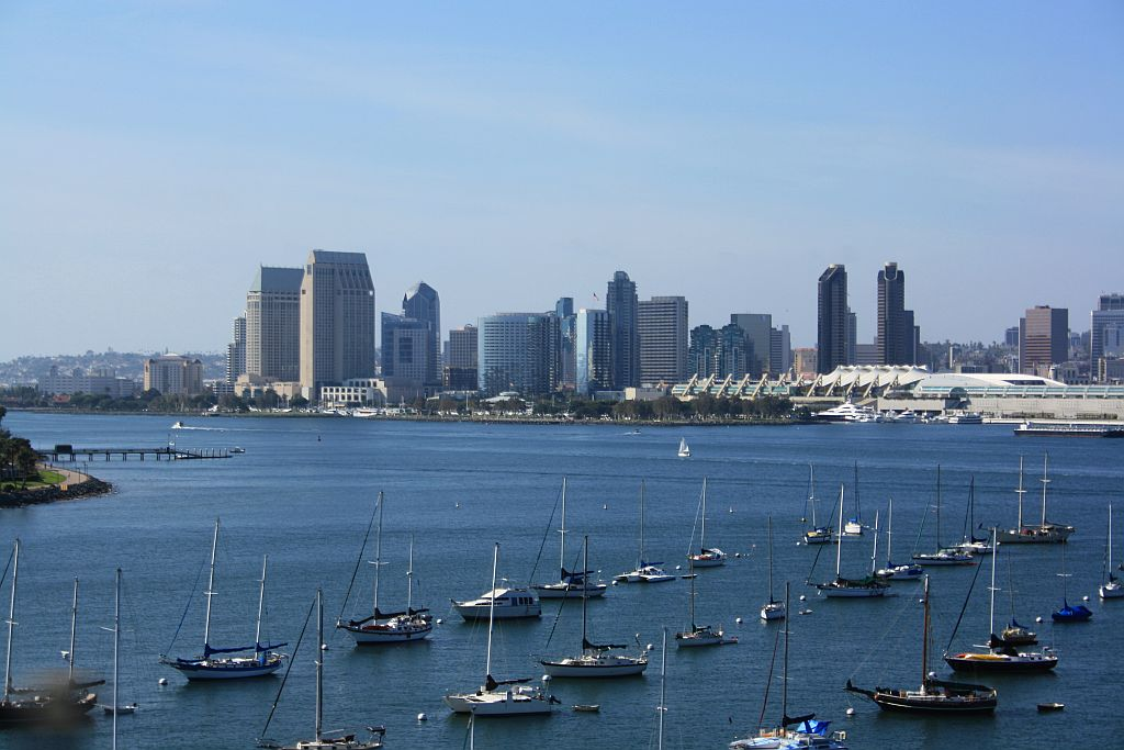 View of San Diego from Coronation Island
