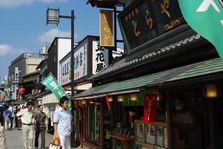 柴又帝釈天参道(Shibamata Taishakuten approach to a shrine) | by puffyjet