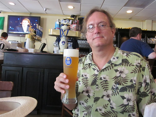 Miami Beach Lincoln Mall Ifrog Hofbrau Beer | by Infrogmation
