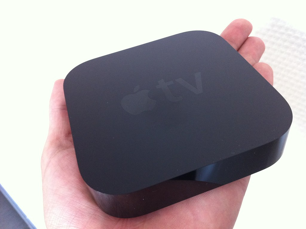 AppleTV in my hand