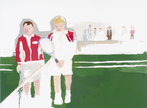 "Jennie Ottinger ""Tennis Match (Scene from Infinite Jest)"""