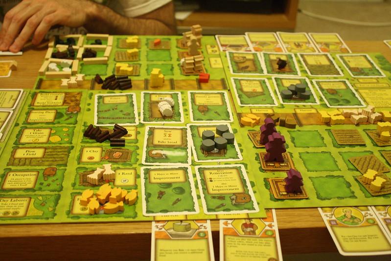 Best Farming Board Games agricola