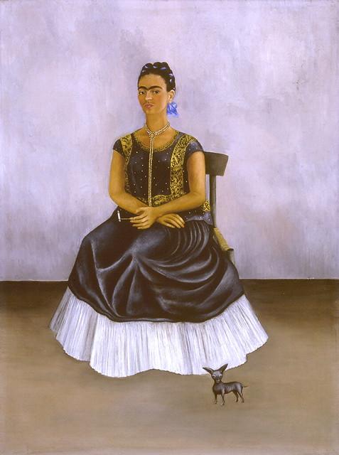 Frida Kahlo - Itzcuintli the dog with me,  1938