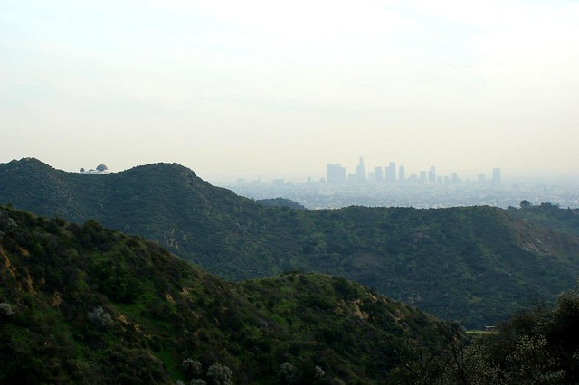 The Observatory and Downtown L.A.