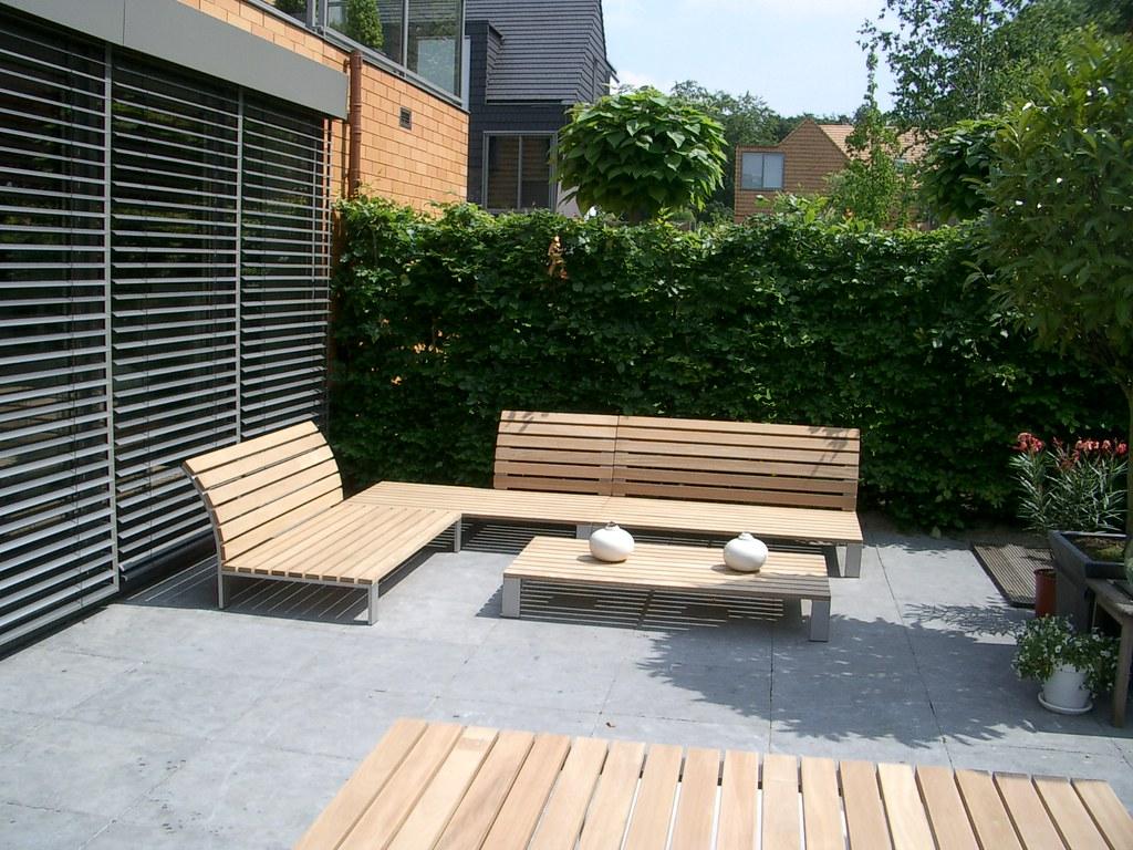 Mooie Houten Tuinbank.Lounge Set Houten Op Zoek Naar Een Mooie Houten Lounge Set Flickr