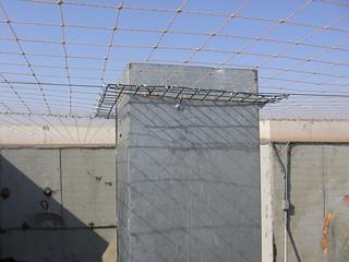 Bird Netting on Rooftop   Bird Netting was installed to bloc